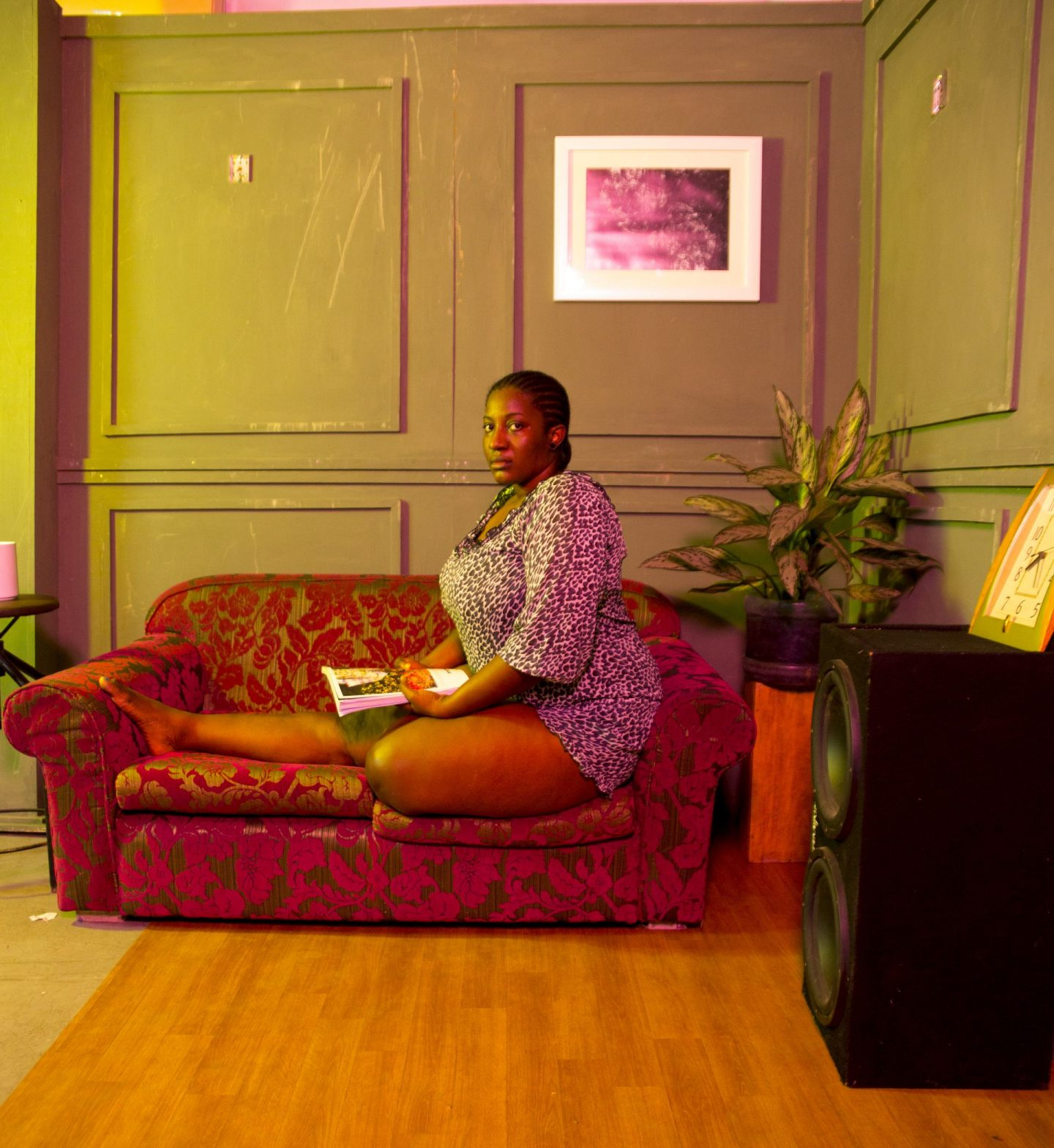 Black artists invite you into their living room for online exhibition 'No Shoes on My Carpet'